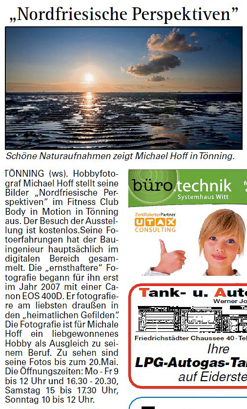Wochenschau Nordfriesland – 27.02.2011